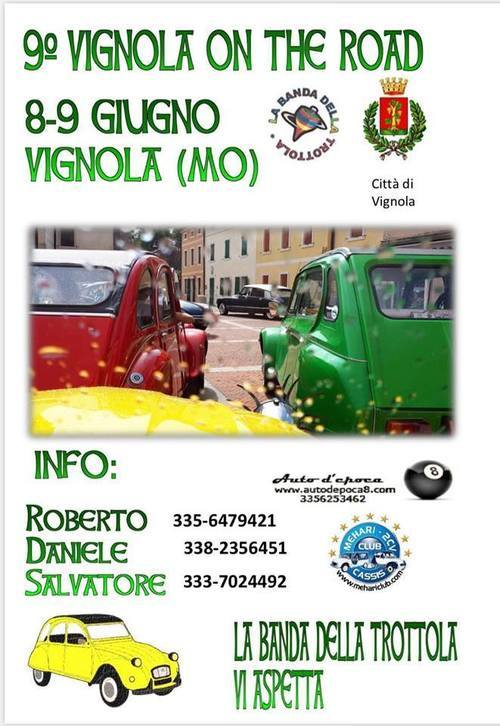 9° Vignola on the road